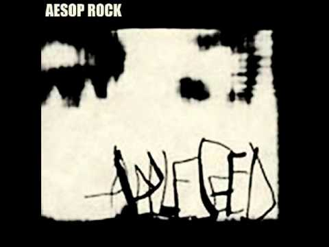 Aesop Rock - Hold the cup
