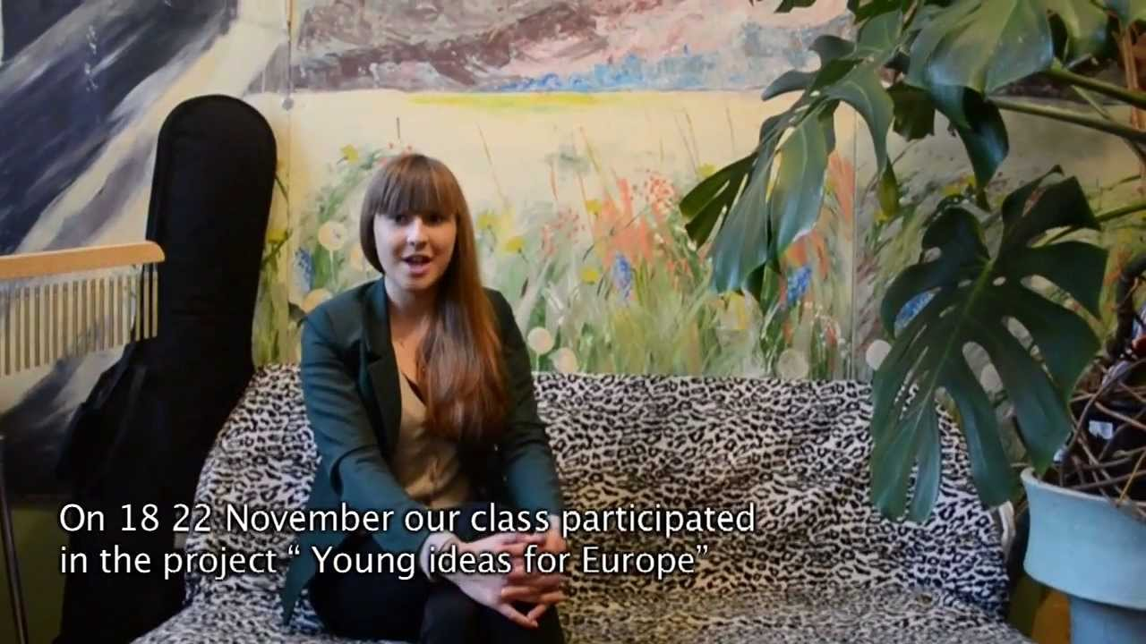 Young Ideas For Europe LITHUANIA Panevėžys 2013 - YouTube