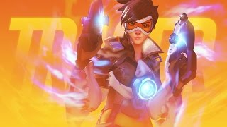 OVERWATCH FIGHTING GAME?! Tracer ONLINE Ranked Match! Overwatch x Street Fighter V MOD