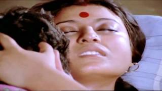 om puri and debashree in an emotional scene.
