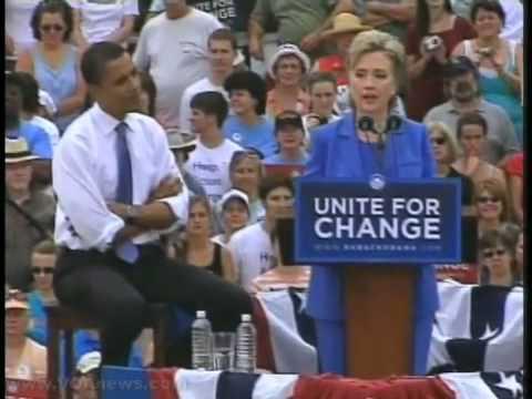 Obama Names Hillary Clinton as Secretary of State