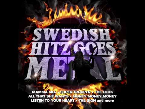 Swedish Hitz Goes Metal - Listen To Your Heart (Roxette Cover)