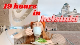 I Had a 19 Hour Layover in Helsinki, Finland VLOG