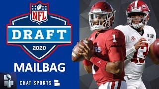 NFL Draft Mailbag On Zack Baun, Yetur-Gross Matos, Jalen Hurts vs Dak Prescott, Tua & Derrick Brown?
