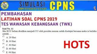 Prediksi Soal Cpns Tiu Hots 2019