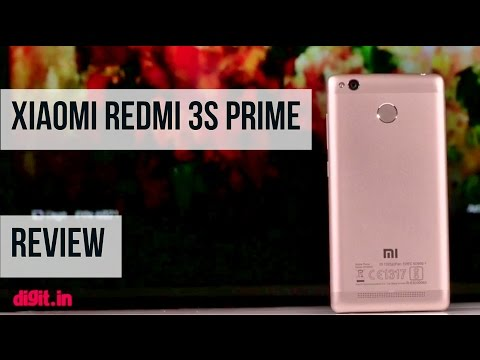 Xiaomi Redmi 3s Prime Review Video | Digit.in