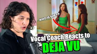 Vocal Coach Reacts to Olivia Rodrigo - Deja Vu