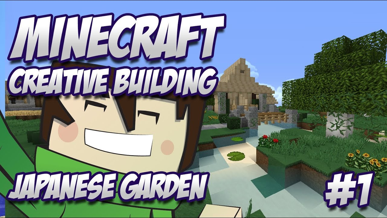 minecraft creative build japanese garden zen garden part 1 youtube