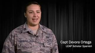 'Because of LEAP': From a cadet to a LEAP scholar