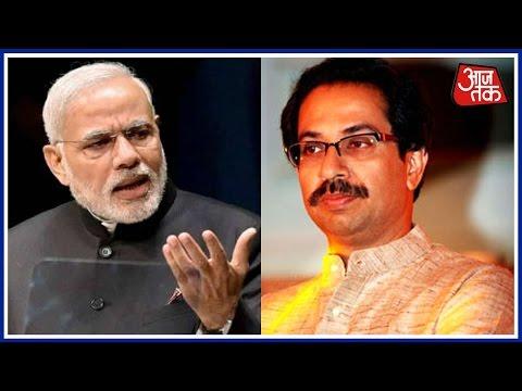 Shatak Aaj Tak: Shiv Sena Targets Narendra Modi Over Beef Ban