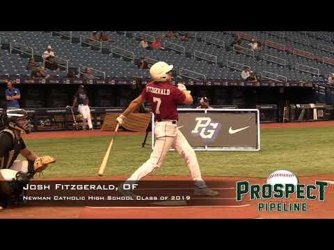 Josh Fitzgerald Prospect Video, OF, Newman Catholic High School Class of 2019