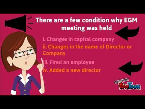 COMPANY LAW CHAPTER 5 (EXTRA ORDINARY GENERAL MEETING)