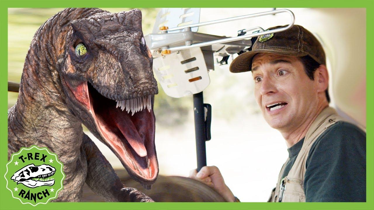 Dinosaur Hypnosis - Dinosaur Mind Reading Gadget! T-Rex Ranch - Dinosaurs for Kids