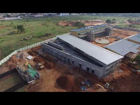 AKA Maputo construction October 2017