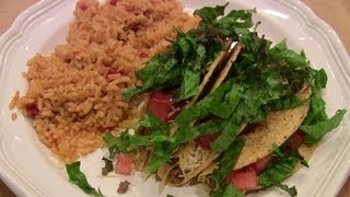 Quick &  Easy Beef Tacos W/spanish Rice