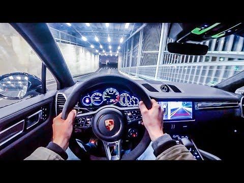 2019 Porsche Cayenne Turbo S E-Hybrid Coupé (680HP) NIGHT POV DRIVE Onboard (60FPS)