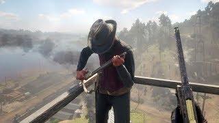 Red Dead Redemption 2 - First Person Brutal Gameplay Vol. 27 (Euphoria Ragdolls)