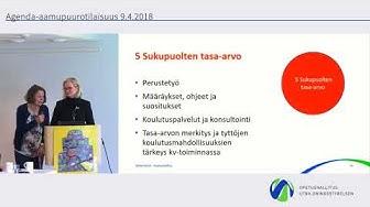 Agenda2030 ops-perusteissa - Marjaana Manninen ja Paula Mattila 1080p
