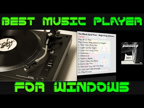 (Free)Top 3 Best Music Player for Windows 7,Windows 8(8.1) & Windows 10 2015-2016
