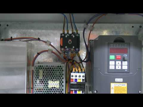 CNC Router Build #4 - Cabinet Power Wiring & Emergency Stop Circuit
