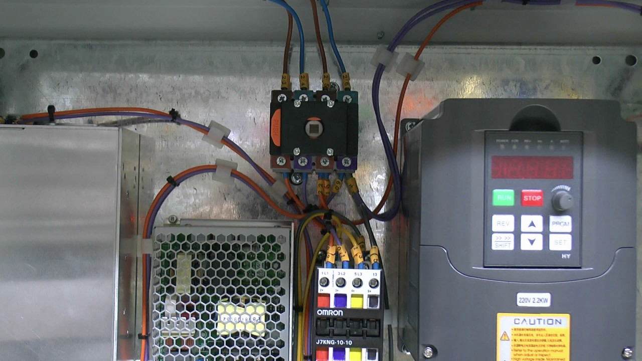 small resolution of cnc router build 4 cabinet power wiring emergency stop circuit