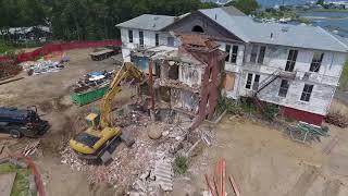 1938 Brick Building Demolition Timelapse