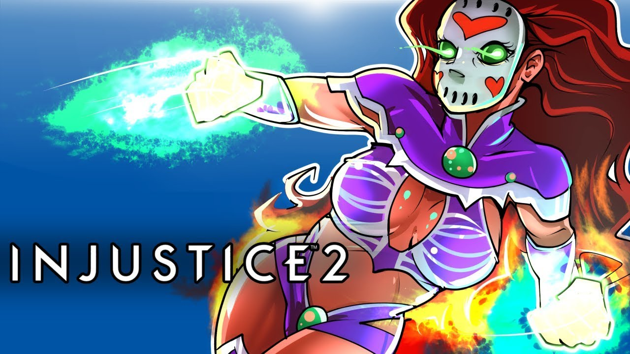 INJUSTICE 2 - STARFIRE DLC CHARACTER!!! SHE'S OP!