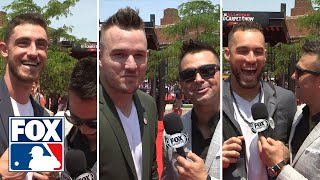 Nick Swisher catches up with MLB All-Stars at the red carpet | FOX MLB