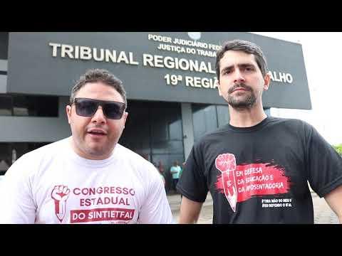 Sintietfal em apoio aos Jornalistas Alagoanos