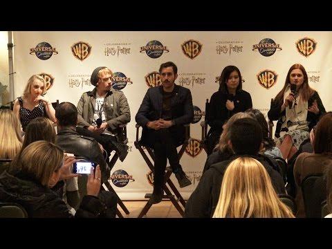 Harry Potter Cast Q&A Session | A Celebration of Harry Potter 2016