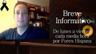 Breve Informativo - Noticias Forex del 13 de Noviembre 2018