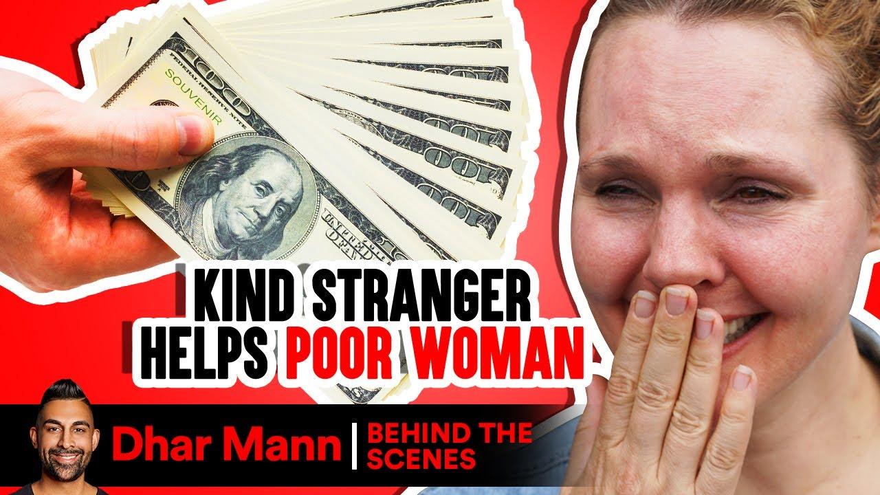Kind Stranger Helps Poor Woman (and her dog)… Gets a BIG SURPRISE! | Dhar Mann Studios