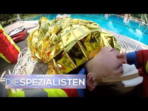 Kurz vor dem Ertrinken | Auf Streife - Die Spezialisten | Sat.1 TV