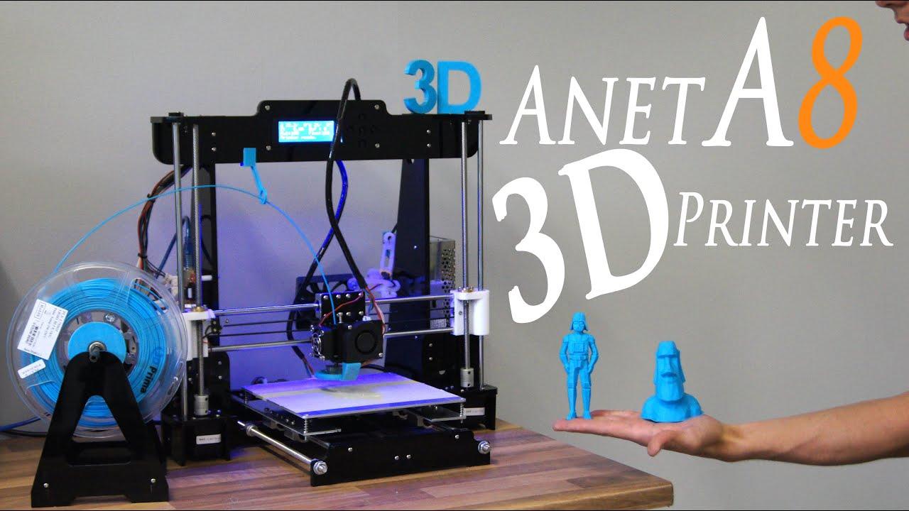 Best Cheap DIY 3D Printer Kit Anet A8 - RCLifeOn