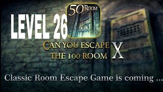 Can You Escape The 100 room X level 26 Walkthrough
