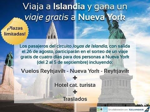Gana un viaje a Nueva York con Islandia Tours