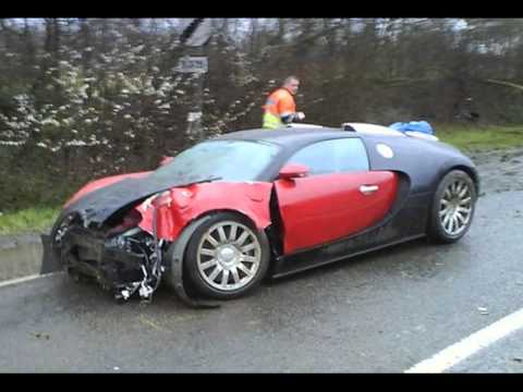 10 Wrecked Sports Cars Luxury Expensive Car Accidents