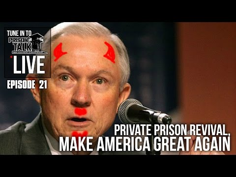 Private Prison Revival, Make America Great Again - Prison Talk Live Stream E21