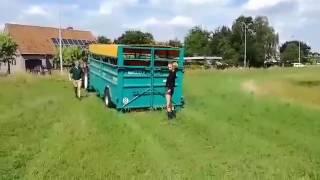Rolland Transport du bétail Blanc Bleu Belge