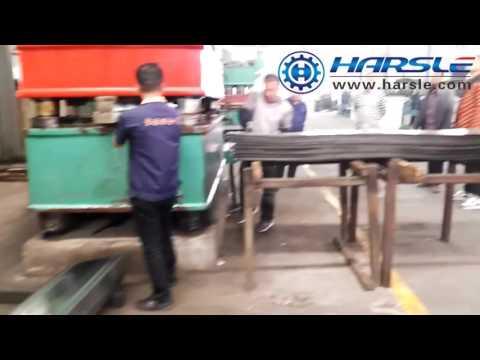 security metal door frame pressing machine, steel door case embossing machine
