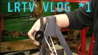 Hybrid D2 VLOG 1. Relative compression test on the Td5 and opening ones eyes to fabrication.