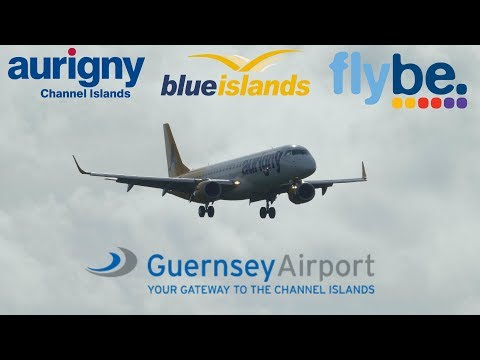 Guernsey Airliner Action at EGJB/GCI 7th August 2017 1080p HD
