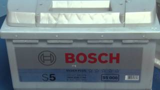 Аккумулятор Bosch s5 silver plus 6СТ-63 ah(Аккумулятор Bosch s5 silver plus 6СТ-63 ah http://electromotor.com.ua/video/battery/2495-bosch-6-63-s5-st-silver-plus Автомобильные аккумуляторы бош,..., 2011-11-02T17:56:12.000Z)