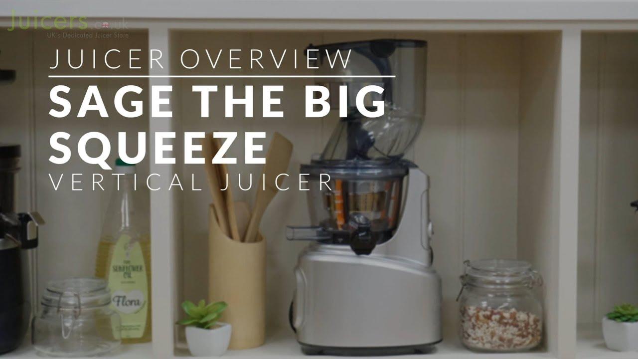 Sage the Big Squeeze Slow Juicer