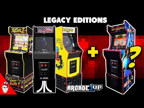 Arcade1up - Legacy Edition - Mortal Kombat II with new features? from Console Kits