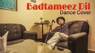 Badtameez Dil || Dance choreography || Anant || dancing dreams studio