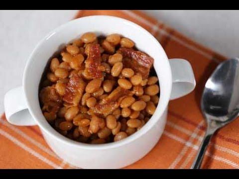 Healthy Crock Pot Baked Beans Recipe