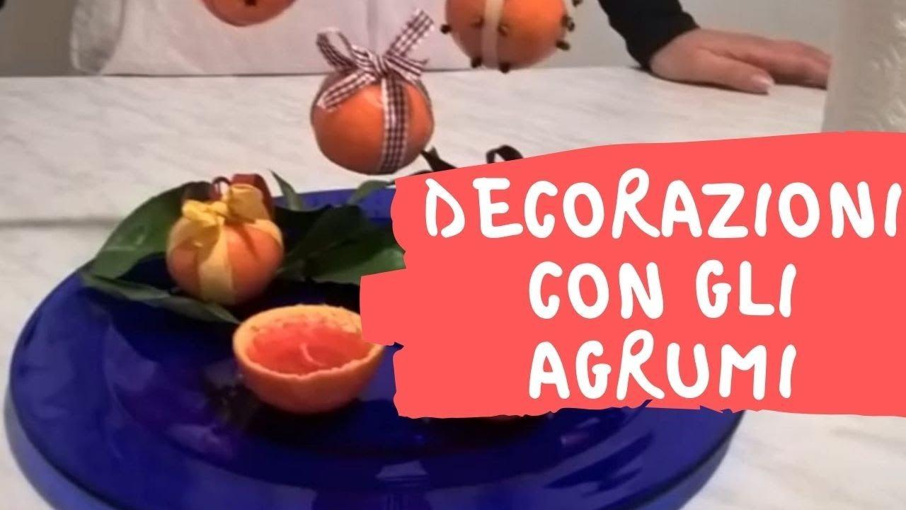 Decorazioni natalizie con clementine candele e addobbi for Youtube decorazioni natalizie