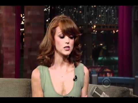 Jayma Mays on David Letterman 12.09.10