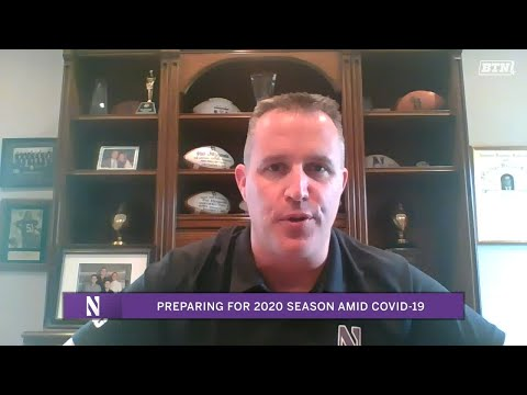 How Do You Prepare For Football During Quarantine? | A Chat With Pat Fitzgerald | Big Ten Football